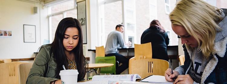 Students studying at KEC